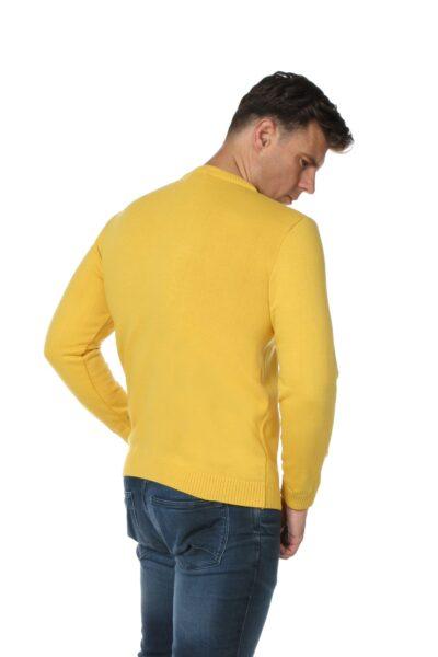 Sweter JOHN zółty