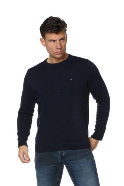 Sweter JOHN granatowy