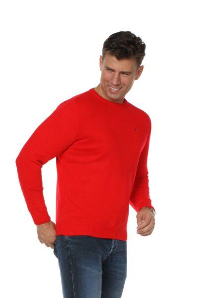 Sweter JOHN czerwony