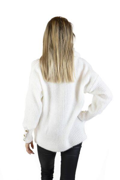 Sweter ALICE biały