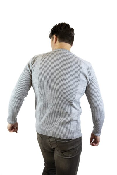 Sweter ALLAN jasny szary