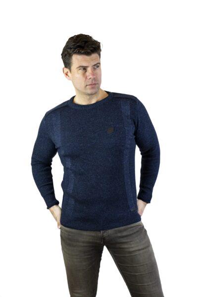 Sweter ALLAN jeansowy