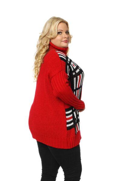 Sweter ASHLEY czerwony