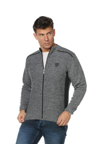 Sweter CASH jasny szary
