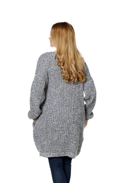 Sweter CATRINE jasny szary
