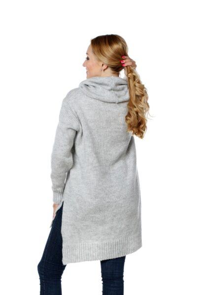 Sweter CHANEL jasny szary