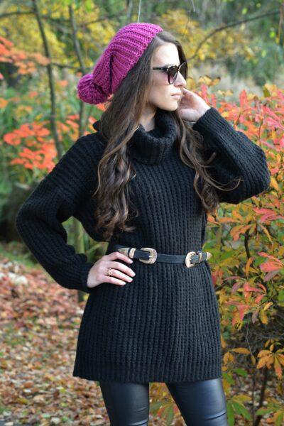 Sweter CLAUDIA czarny