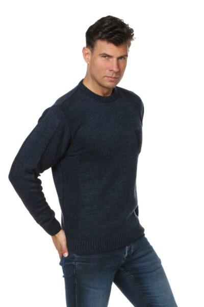 Sweter CREW jeansowy