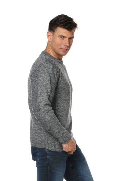 Sweter CREW szary