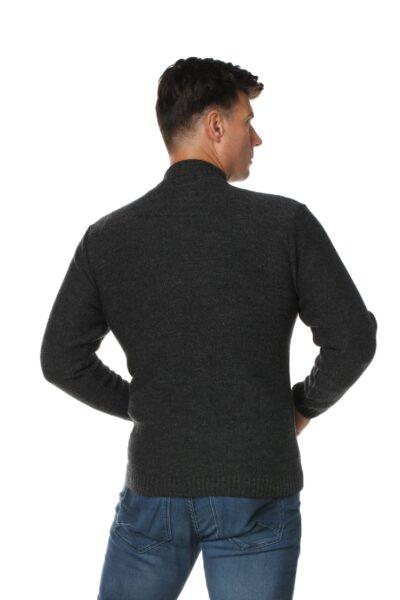 Sweter DIESEL ciemny szary