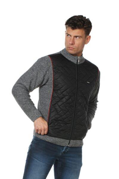Sweter DIESEL jasny szary