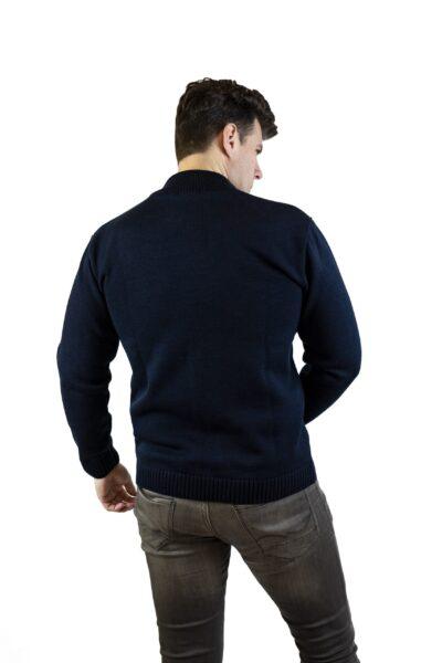Sweter EVAN granatowy