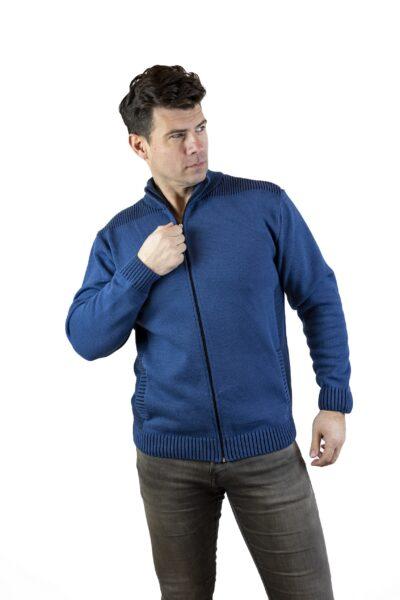 Sweter EVAN jeansowy