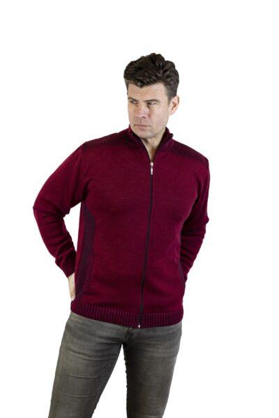 Sweter EVAN bordowy
