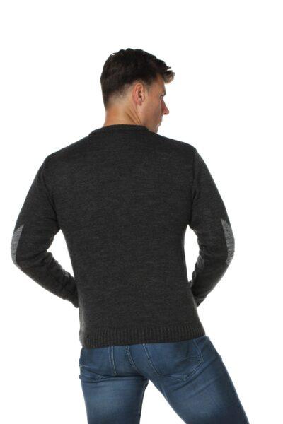 Sweter FORX ciemny szary