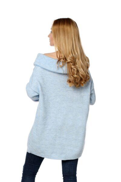 Sweter HONEY błękitny