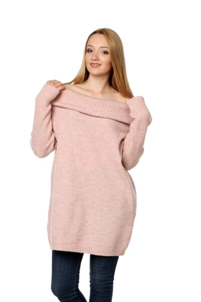 Sweter HONEY różowy