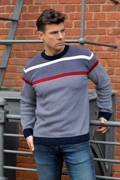 Sweter LORD bordo