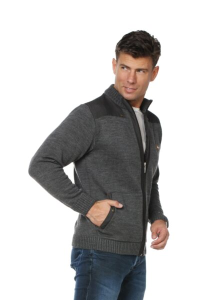 Sweter LUCAS szary
