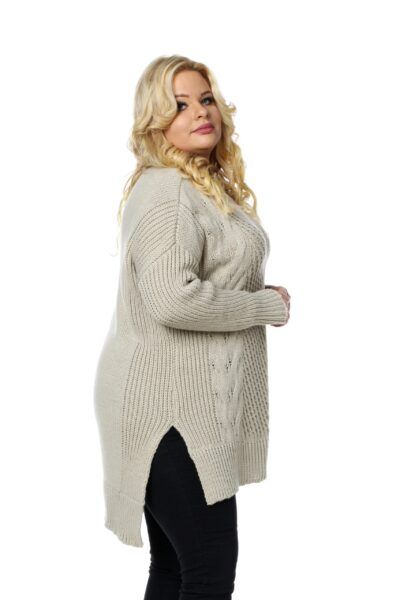 Sweter LUKRECJA beżowy