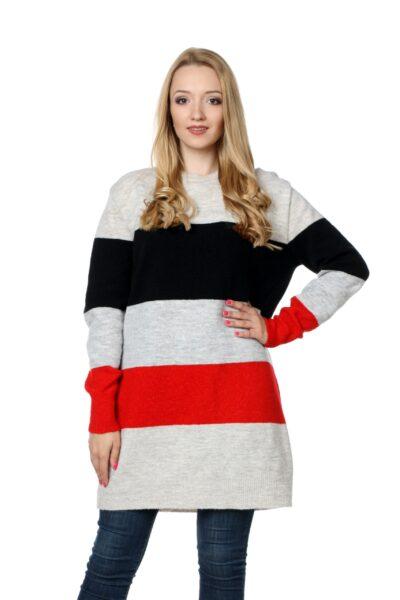 Sweter SUSAN czerwony