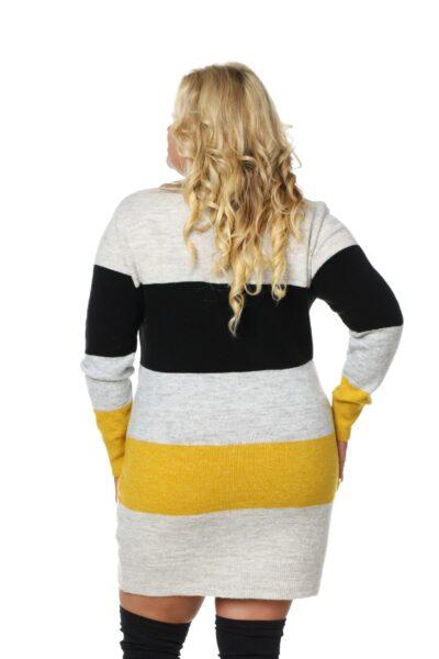 Sweter SUSAN SIZE żółty