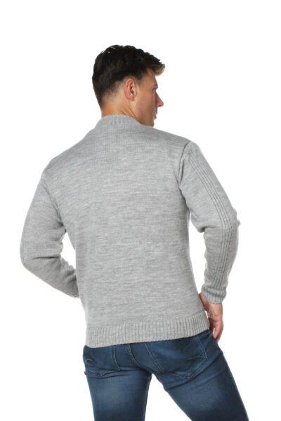 Sweter RAFAELL jasny szary