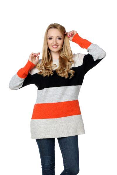 Sweter SUSAN pomarańczowy
