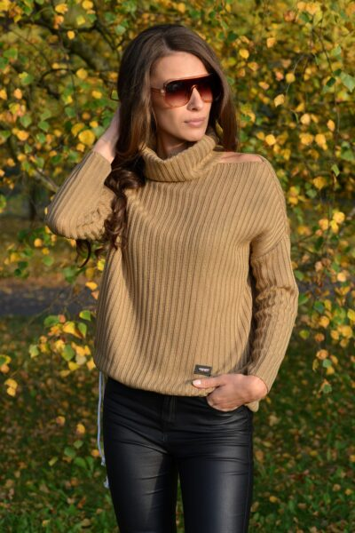 Sweter WITNEY beżowy