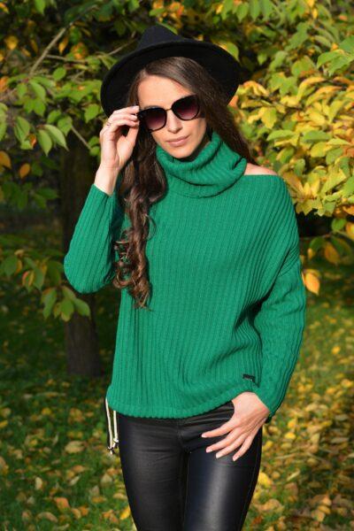 Sweter WITNEY zielony